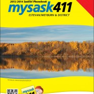 SaskTel Phone Book cover – Estevan & Weyburn