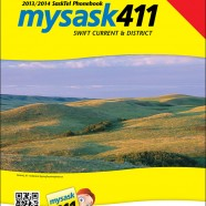SaskTel Phone Book cover – Swift Current