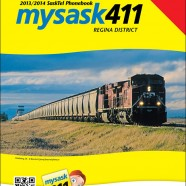 SaskTel Phone Book cover – Regina District