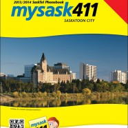 SaskTel Phone Book cover – city of Saskatoon