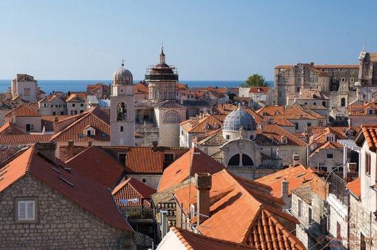 View of old town Dubrovnik, Croatia