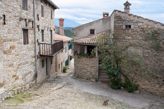 "Hum, a sefl-declared ""smallest town in the world"". Istria, Croatia"