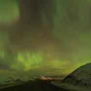 Northern Lights at Saskatchewan Landing Provincial Park